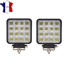 2 X 48W LAMPE DE TRAVAIL 12V 24V PUISSANT LED VEHICULES UTILITAIRES UNIVERSEL