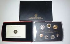 2007 SPECIMEN SET - ROYAL CANADIAN MINT 7-COIN SET - SPECIAL SWAN LOONIE DOLLAR