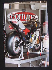 Photo Fortuna Yamaha YZR-M1 2003 #7 Carlos Checa (ESP) Dutch TT Assen