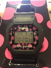 LIMITED EDITION  G-SHOCK KUSAMA YAYOI【X-girl×草間彌生×G-SHOCK】 DW-5600 PINK VERSION
