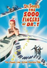 DR SEUSS' THE 5000 FINGERS OF DR T (1953) -  Region Free DVD - Sealed