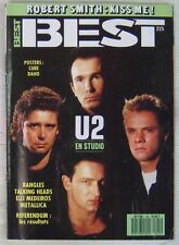 Revue BEST Avril 1987 U2 Talking Heads Metallica Elli Medeiros