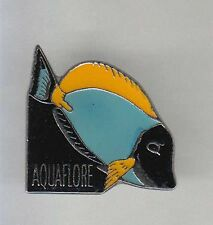RARE PINS PIN'S .. SPORT PECHE FISHING POISSON FISH AQUARIUM AQUAFLORE ~AR