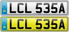 CHERISHED NUMBER PLATE -LCL 535A - LCL LC LL 535 BMW L CLASS CHEAP 535 NUMBER