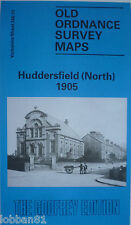 Old Ordnance Survey Map Huddersfield North Yorkshire 1905 S 246.11 New Map