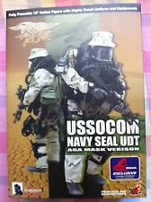 1/6 Hot Toys USSOCOM Navy Seal UDT AGA Mask Version NEW VERY RARE