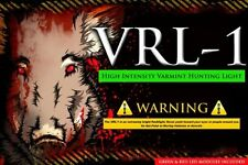 Varmint Hunting Light Hog Coyote Package VRL-1 High Intensity Red & Green LED