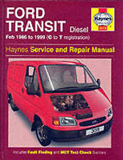 New Haynes Manual Ford Transit Diesel 86-99 Car Workshop Repair Book 3019