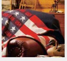 NEW WOOLRICH FREEDOM THROW BLANKET USA AMERICANA FLAG MSRP $145.00