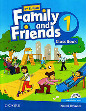 Oxford FAMILY AND FRIENDS 1 Class Book with MultiROM 2nd Edition @BRAND NEW@