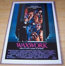 Wax Work Waxwork 11X17 Horror Movie Poster