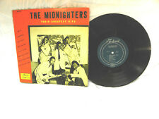 THE MIDNIGHTERS-THEIR GREATEST HITS-ORIGINAL 10 INCH LP-VINYL 2.0 COVER 2.0