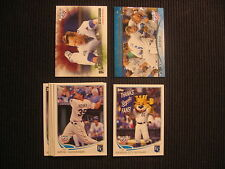 2013 TOPPS OPENING DAY KANSAS CITY ROYALS MASTER TEAM SET 9 CARDS  WITH INSERTS+