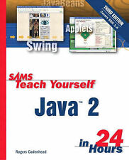 Sams Teach Yourself Java 2 in 24 Hours Rogers Cadenhead Excellent Book