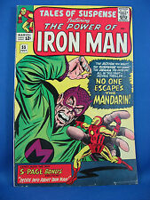 TALES OF SUSPENSE 55 Fine Iron Man Mandarin 1964