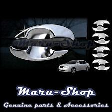 Chrome Door Handle Catch Cup Bowl Cover Trim for 07~10 Hyundai Elantra 4DR