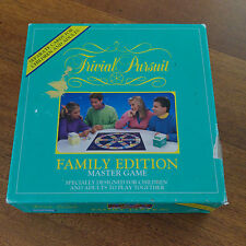 Trivial Pursuit Family Edition Master Game 1992