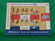 britains herald soldiers 60mm boxed swoppet AWI british & american troop 7385
