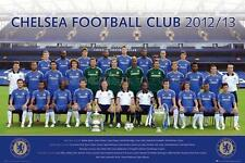 Chelsea FC Team Photo 2012 - 2013 - Maxi Poster 61cm x 91.5cm (new & sealed)