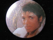 Michael Jackson-Thriller-Pin-Badge-Button-80's Vintage-Rare