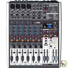 Behringer Xenyx X1204USB 12-Input 2/2-Bus Mixer Mac Windows USB Audio Interface