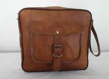 Handmade Real Leather Mens Toiletry Bag Eco-Friendly