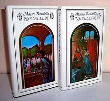 Matteo Bandello novelle - 2 volumi-ILLUSTRATO-BELLO!