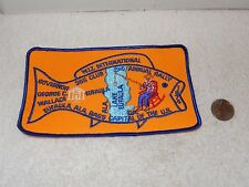 Vintage Alabama W.I.T. Patch Winnebago 1974 2nd Annual Rally Lake Eufaula