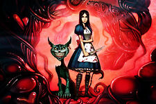Alice Madness Returns American Mcgee's Cheshire Cat POSTER 36X24 INCHES