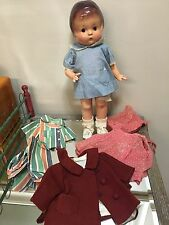 "14"" Effanbee Composition Patsy Doll With Extra Clothing 1930's-40's"