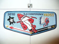 OA Seminole Lodge 85,S-52, 2010 S4 Conference, Indian Chief HOST Flap,Florida,FL