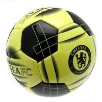 CHELSEA FC FLUO SOCCER FOOTBALL  26 Stitched Panel Size 5 Ball FÙTBOL Bola