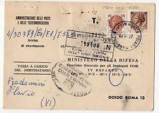 1977 REPUBBLICA SIRACUSANA 20+100L SU AVVISO DI RICEVIMENTO POIANA M. 27/9 C/772