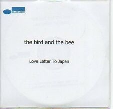 (67B) The Bird & The Bee, Love Letter to Japan - DJ CD