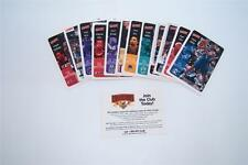 LOT OF 13 VICTORY 2000 BASKETBALL COLLECTORS CARDS