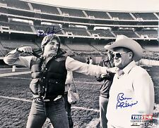 Dan Pastorini & Bum Phillips Signed Houston Oilers 16x20 Photo TRISTAR