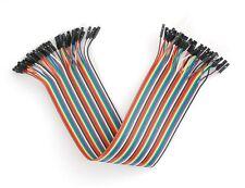 """Premium Female/Female Jumper Wires - 40 x 12"""" (300 mm)"""