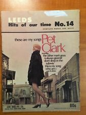 PET CLARK - THESE ARE MY SONGS - WORDS AND MUSIC LEEDS VINTAGE SHEET MUSIC BOOK
