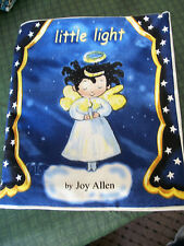 Little Light Soft Fabric Cloth Book! Completed!! NEW! Handmade!