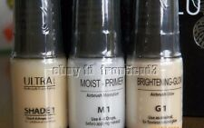 **LUMINESS AIR** 3pc Ultra foundation shade 1 & moist primer & glow TRIO makeup