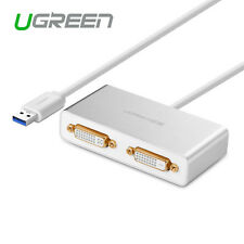 Ugreen USB 3.0 to Dual DVI HDMI VGA External Video Graphics Card