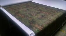 """TRUE TIMBER MIXED PINE CAMO COTTON BLEND CANVAS FABRIC 60""""W HUNTING CAMOUFLAGE"""