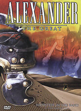 Alexander the Great - Footsteps in the Sand: A Documentary 2004 Ex-library