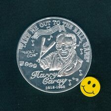 HARRY CARAY  Holy  Cow - Tribute To ( Cubs ) Doubloon Coin Token 1999