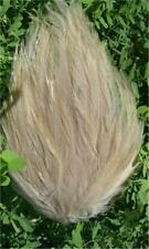 BEIGE COLOR ROOSTER HACKLE FEATHERS PAD-LOW SHIP