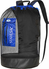 Stahlsac Bonaire Scuba Diving Travel Mesh Backpack Gear Bag Blue NEW