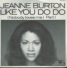 "45T 7"": Jeanne Burton: like you do do. barclay. A4"