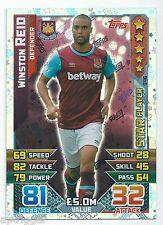 2015 / 2016 EPL Match Attax Star Player (346) Winston REID West Ham United