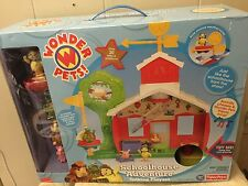 New Wonder Pets Schoolhouse Adventure Talking Playset With 3 Wonder Pets & More