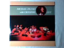 MICHAEL FRANKS WITH CROSSFIRE Live lp GERMANY